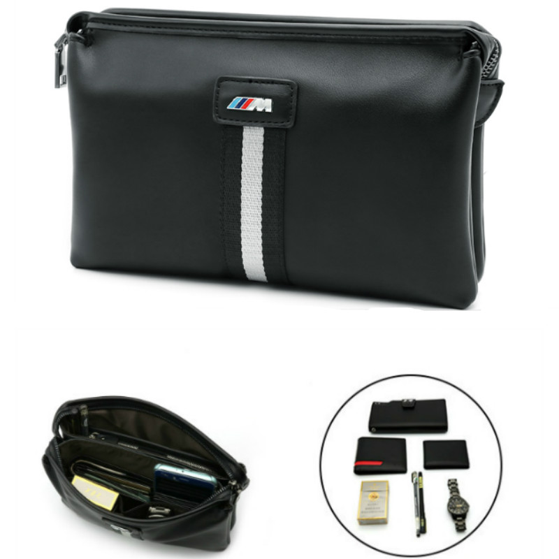 цена на For BMW X5 X3 X6 E46 E39 E38 E90 E60 E36 F30 E34 F10 F20 E92 E38 E91 E53 M3 M5 Stickers For Men Hand Bag purse Car Accessories