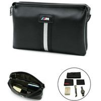 For BMW X5 X3 X6 E46 E39 E38 E90 E60 E36 F30 E34 F10 F20 E92 E38 E91 E53 M3 M5 Stickers For Men Hand Bag purse Car Accessories