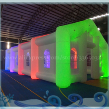 High quality outdoor inflatable luminous photo booth tent with LED lighting for advertising