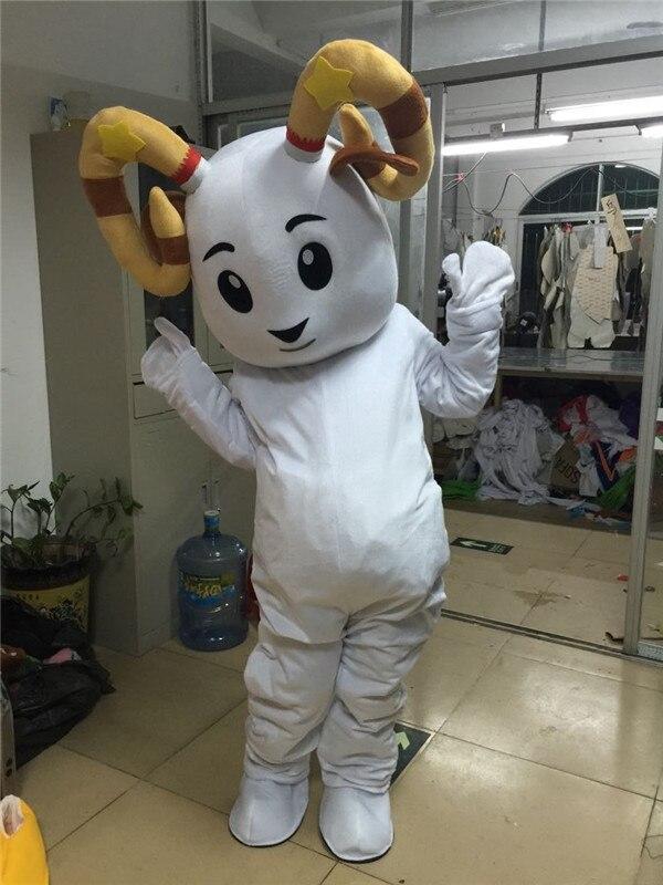 Antilope mouton Mascotte Costume Halloween noël anniversaire célébration carnaval robe Cosplay thème Mascotte carnaval Costume - 6