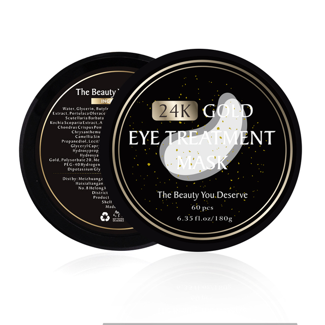 60pcs Collagen Eye Mask Under Eye Patches Gel 24K Gold Hydrogel Crystal Sleep Mask Sheet Pads Dark Circles Ageless Skin Care 5