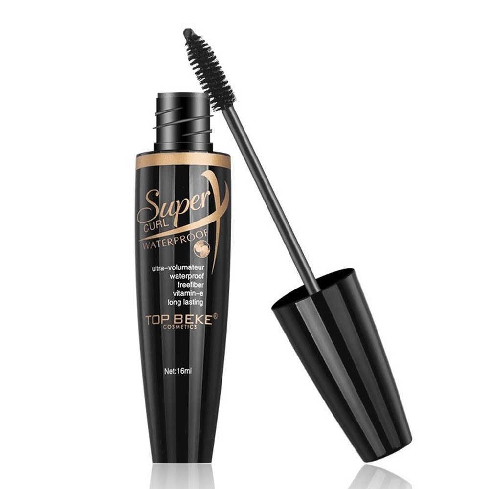 416243e5025 ... 16ML Mascara 4d Rimel Waterproof Curling Volume Liquid Lash Extension  Eye Lashes Lengthening Black 4D Silk ...