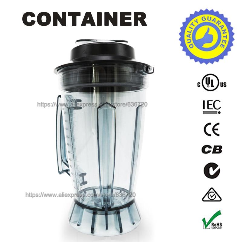 G7400 frasco de licuadora contenedor de botellas este artículo no contiene un juego de cuchillos-in Piezas para licuadora from Electrodomésticos    1