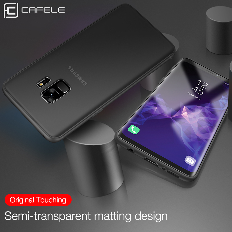 Cafele Soft TPU Phone Case for Samsung Galaxy S9 S9 Plus Matte Ultra thin 0 6mm TPU Case Cover for Samsung S9 S9 Plus