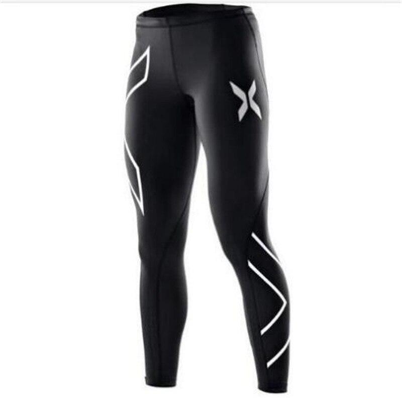 2018 calças de fitness feminino calças de compressão Mulheres Corredores Corredores calças Superelastic calças stretch respirável