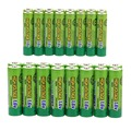 32 CPS A SET! 16 pcs AA 2500mWh & 16 pcs AAA 900mWh 1.6V NiZn Rechargeable Battery Batteries Set