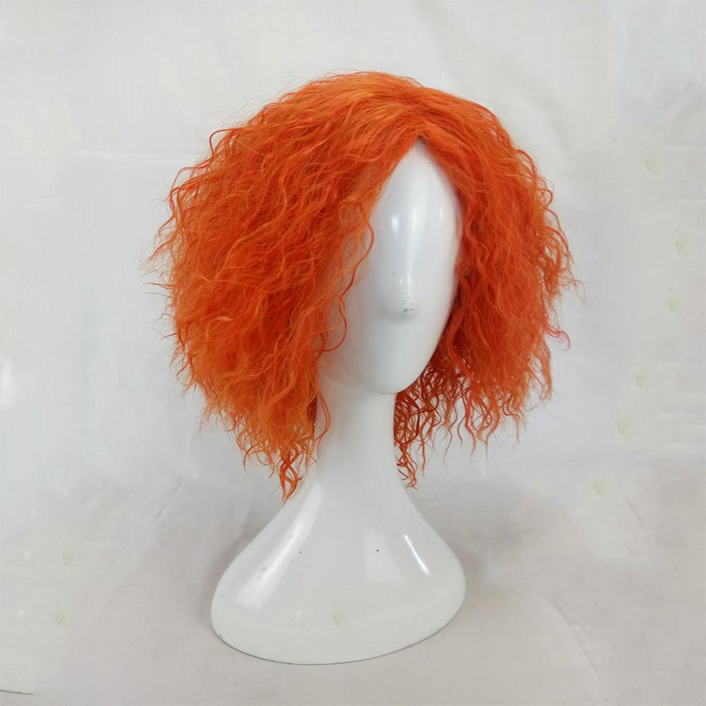 HAIRJOY Kinky Curly Paryk Syntetisk Hår Kvinna Medel Längd - Syntetiskt hår - Foto 4
