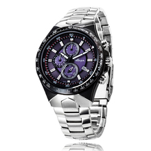 Clock Top Brand Luxury Mechanical watch Chronograph Waterproof Montre Homme Military Watches for Sport Mens