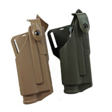 Military Gun Holste Safariland Airsoft Glock Pistol colt 17 19  22 31 32 Belt Holsters With Flashlight Mounted Tactical Light все цены
