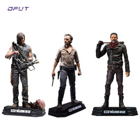 The Walking Dead PVC Action figure American TV series Rick Daryl Negan Collectible Model for Toys Christmas Gift