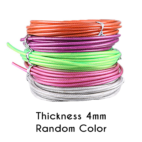 3M Colorful Crossfit Replaceable Wire Cable Speed Jump Ropes Skipping Rope CL