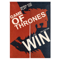 Japan Style Door Curtain Game Of Thrones Decoration Half Shade Hanging Bedroom Living Room Kitchen Home