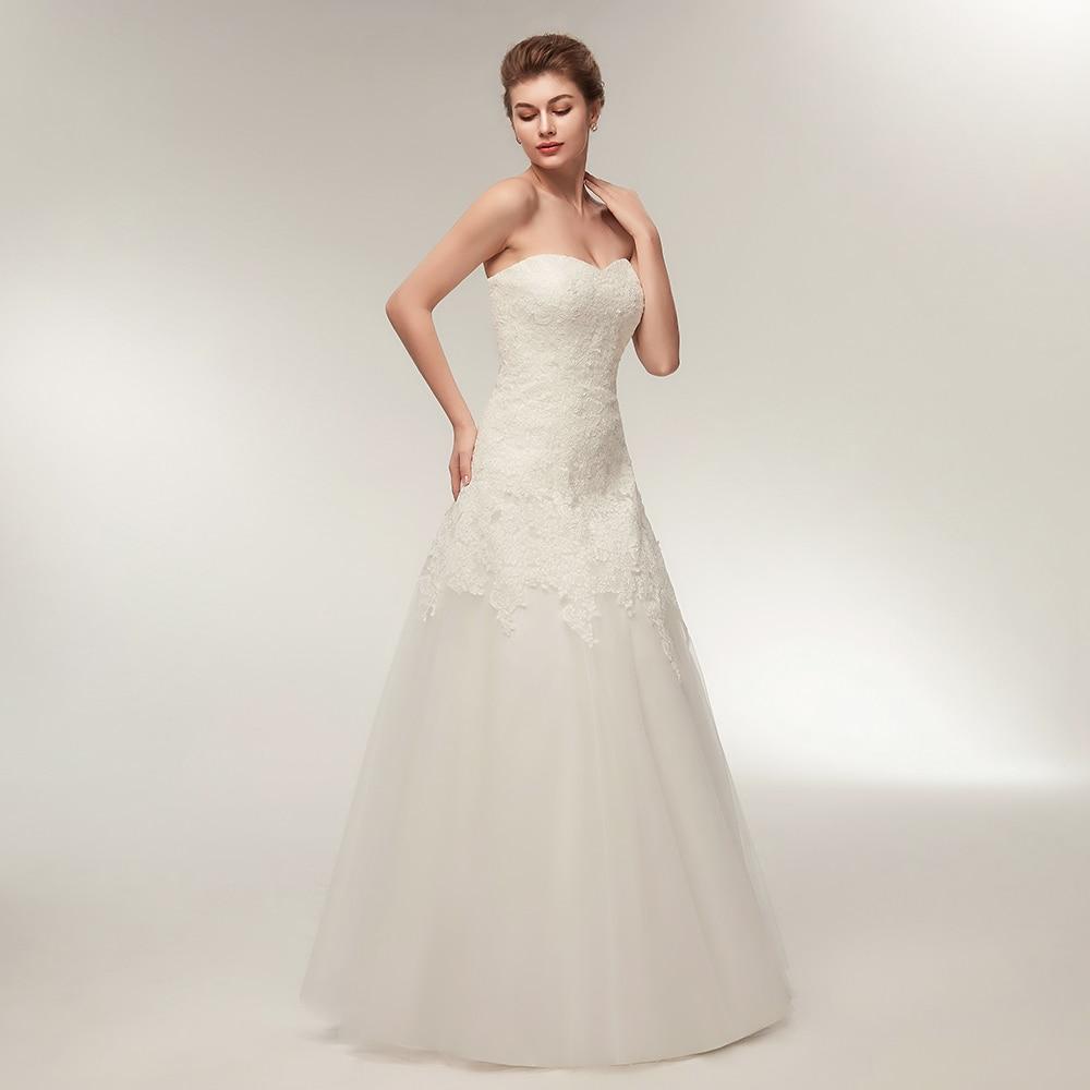 735417b0fce BeryLove Ivory Wedding Dress 2018 Tulle Lace Wedding Dresses Plus Size Robe  De Mariee Wedding Gowns Dresses For Wedding China-in Wedding Dresses from  ...