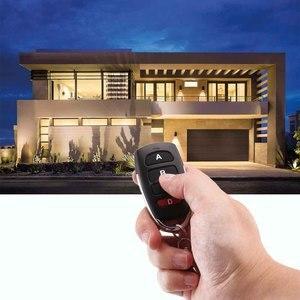 Image 5 - Universal Wireless 4 ปุ่ม 433MHz RF รีโมทคอนโทรลเครื่องส่งสัญญาณสำหรับเปิดประตูโรงรถประตูรหัสการเรียนรู้ Key FOB DI