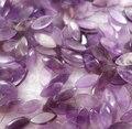 Piedra natural brasileño suelta perlas de cristal de superficie del anillo amatistas ojos granos de la joyería DIY 5X12mm 20 unids