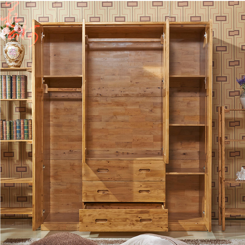 Cedar Wood Wardrobe Wardrobe Sliding Doors Four Large Wardrobe Closet  Chinese Furniture Insect Proof Child In Children Furniture Sets From  Furniture On ...