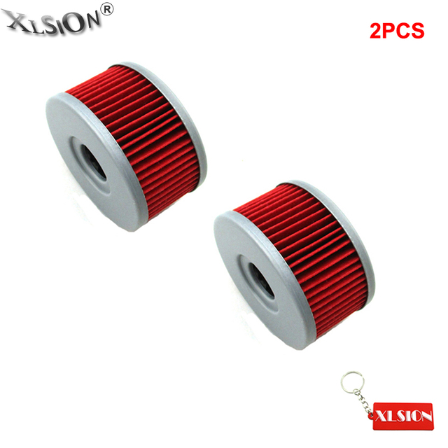 US $6 87 25% OFF|XLSION 2Pcs Oil Filters For Suzuki VL125LC VL250LC  Intruder GZ250 DRZ250 TU250X GN250 GN400 Marauder Motorcycle-in Oil Filters  from