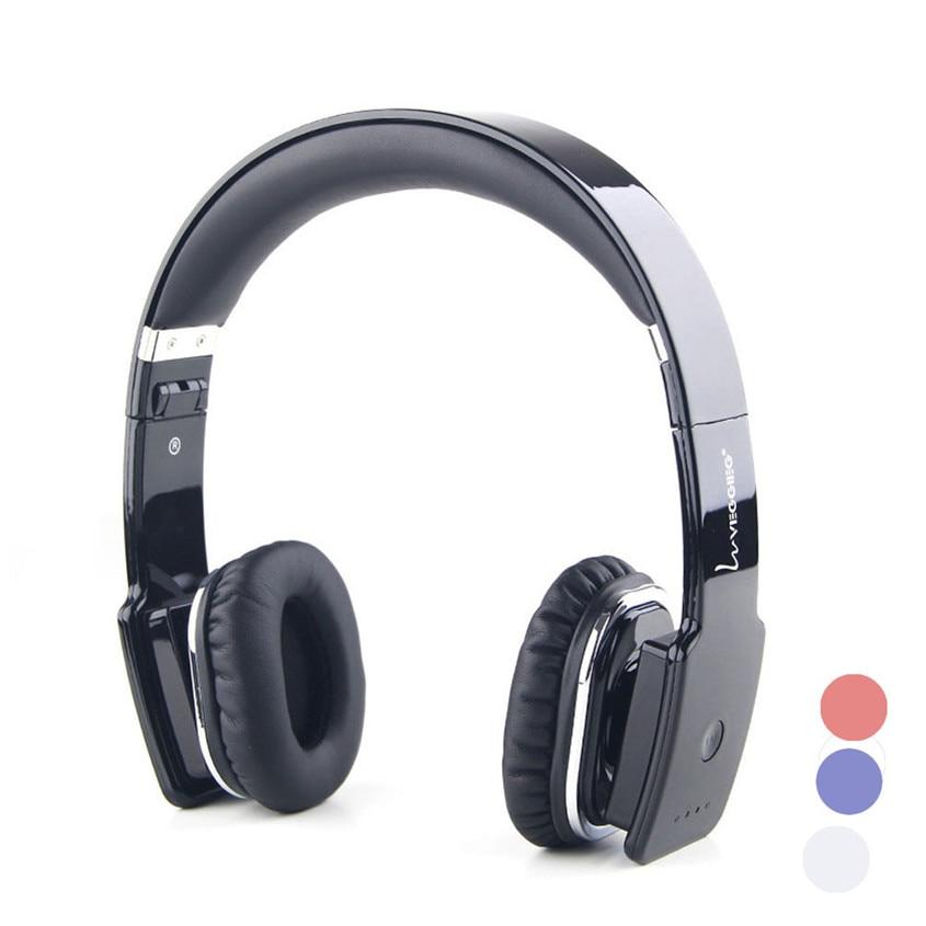 Binmer Superior Quality Foldable Bluetooth Wireless Stereo Headphone With Mic For phone ZNOV0933 high quality portable wireless bluetooth stereo foldable headphone with built in mic speaker for music