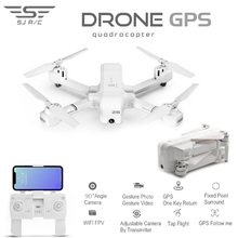 SJRC Z5 RC ドローンプロの Gps RTF 5 グラム WiFi FPV 1080 720p カメラ GPS フォローミーモード RC quadcopter vs XS809 B5W JJPRO X5 F11