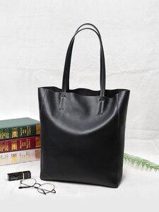 Image 1 - NMD сумки на плечо из натуральной кожи для женщин, роскошные сумки, женские сумки, дизайнерские модные мягкие сумки с большой подкладкой