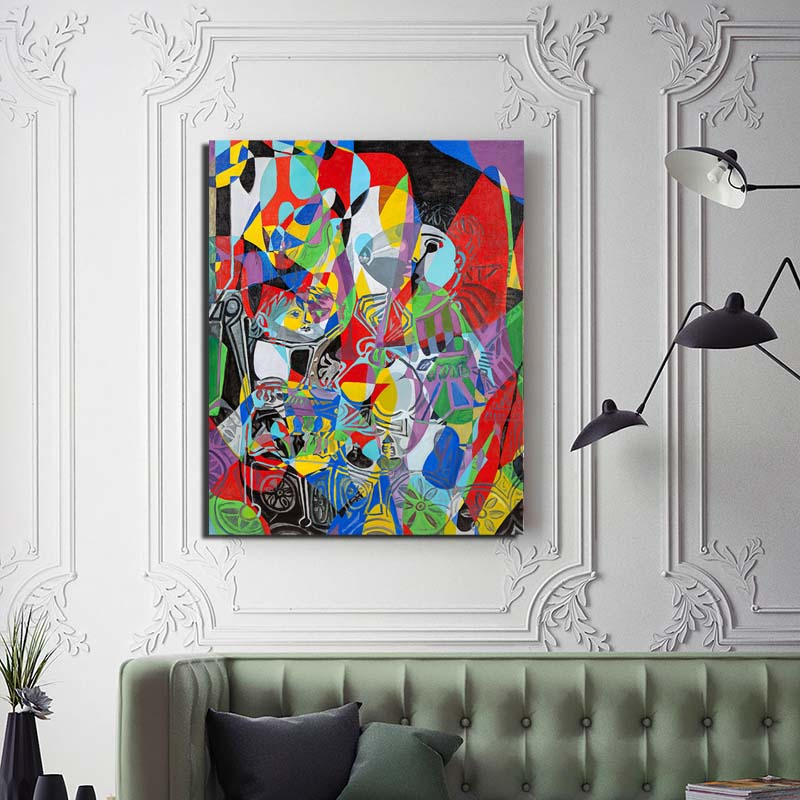 Pablo Picasso HD Canvas Posters Prints Marble Abstract Wall Art Painting Decorative Pictures Modern Home Decoration Accessories in Painting Calligraphy from Home Garden