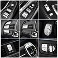カースタイリング内装ボタンステッカー Bmw の 3 4 シリーズ GT F30 F34 自動車の付属品エンジンスタート/警告ライト/ハンドブレーキ