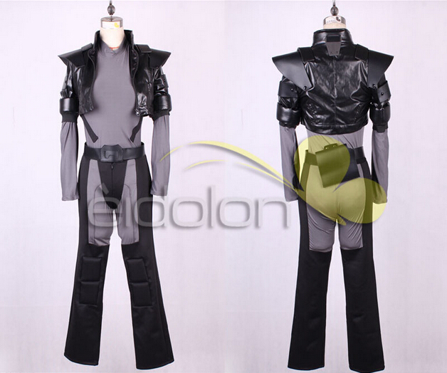 Hot Game Anime <font><b>Ghost</b></font> <font><b>in</b></font> <font><b>the</b></font> <font><b>Shell</b></font> Kusanagi Motoko Cosplay <font><b>Costumes</b></font> Halloween Party Uniform Suit For Unisex Custom-Make Any Size image
