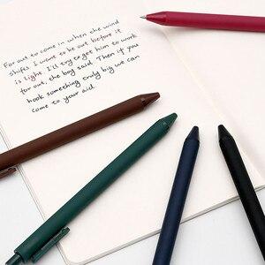 Image 2 - 5 teile/paket Youpin KACO 0,5mm Zeichen Stift Unterzeichnung Stift Glatte Tinte Schreiben Durable Unterzeichnung 5 Farben Für Student Schule/büro arbeiter
