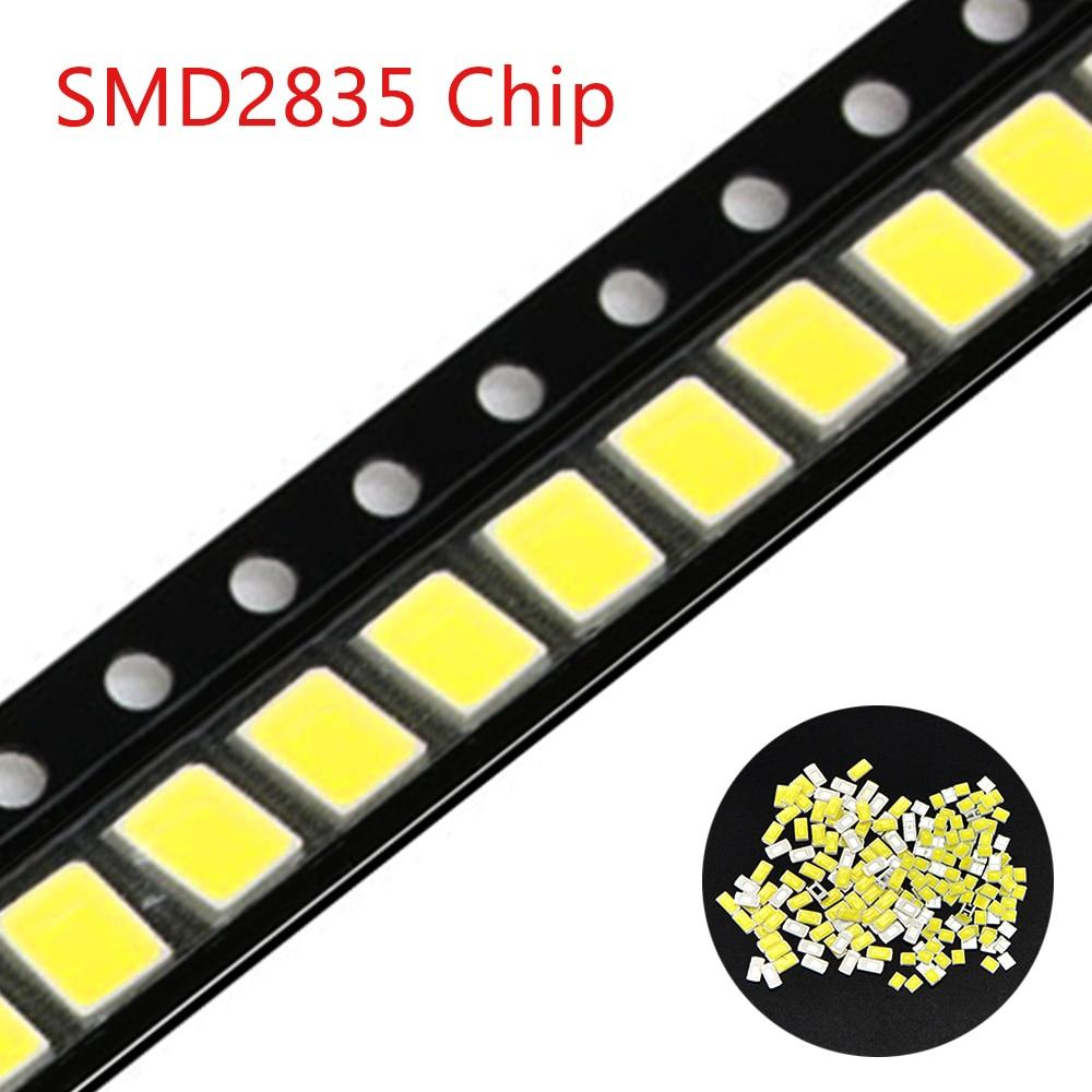 Original Epistar SMD  2835 Chip LED Lamp LEDs Diode Light For LED Strip Spotlight, Indoor Bulb 0.5W 50-57LM 3V-3.2V,135mA