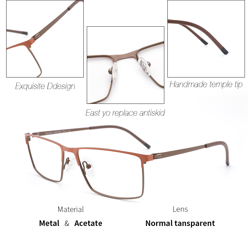 253a9b4f7e Zilead Metal piloto bifocales gafas de lectura hombres Metal doble haz  conducción presbiopía gafas hiperopía gafas