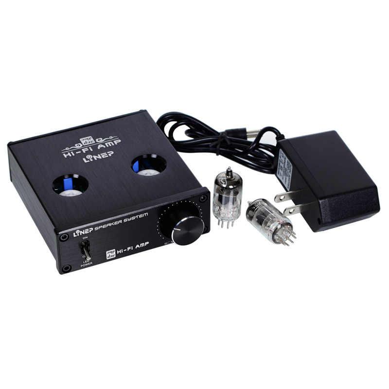Горячая продажа вакуумный трубный клапан Интегрированный усилитель мини стереонаушники Amp US Plug