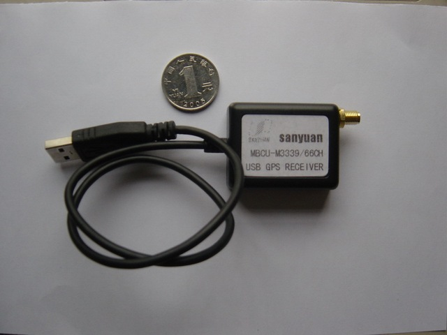 The 10HZ USB GPS receiver module USES the latest GPS chip MTK3339 core chip set