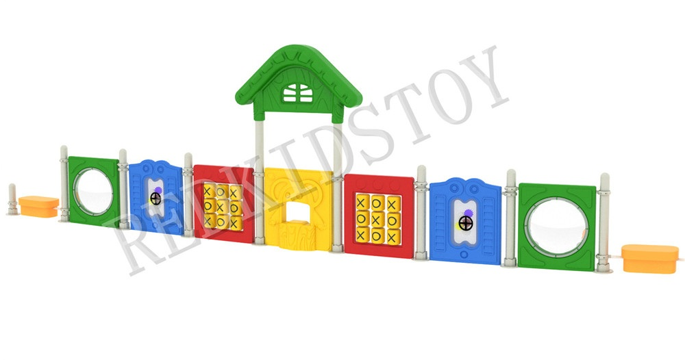Designed for Polish Customer Safety Simple Plastic Playground HZ-90118CDesigned for Polish Customer Safety Simple Plastic Playground HZ-90118C