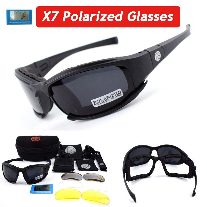 773359dfc X7/C5 Tactical Óculos de Sol Óculos de Lente Óculos de Tiro Óculos de  Proteção