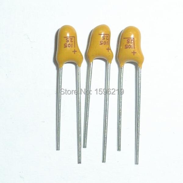 20Pcs Tantalum Capacitor DIP 50V22UF 22UF 50V 226 Radial