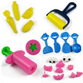 21 pcs/set Playdough Tool Plasticine Mold Malleable Clay Tool Kit Play Doh 3D Soft Polymer Set DIY Toys Creative Toys Clay Kid T