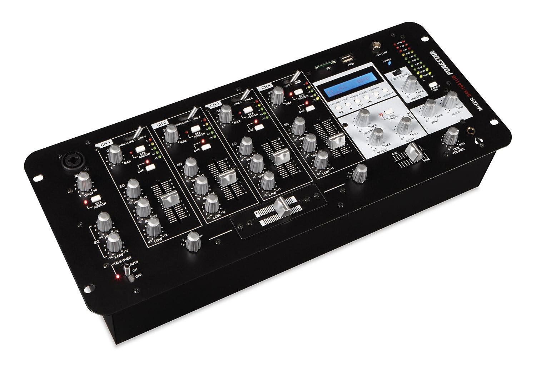 Table de mixage 4 canaux et 1 Microfono reproduit MP3 inclus USB et fils récepteur Bluetooth Fonestar SM-1641UB