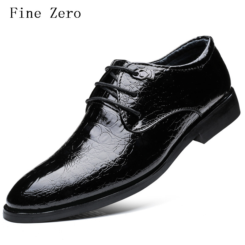 New  Men Business Dress Shoes PU Leather Lace Up Breathable Men Soft  handmade driving Oxford Summer Style Men dress flats 2017 men shoes fashion genuine leather oxfords shoes men s flats lace up men dress shoes spring autumn hombre wedding sapatos
