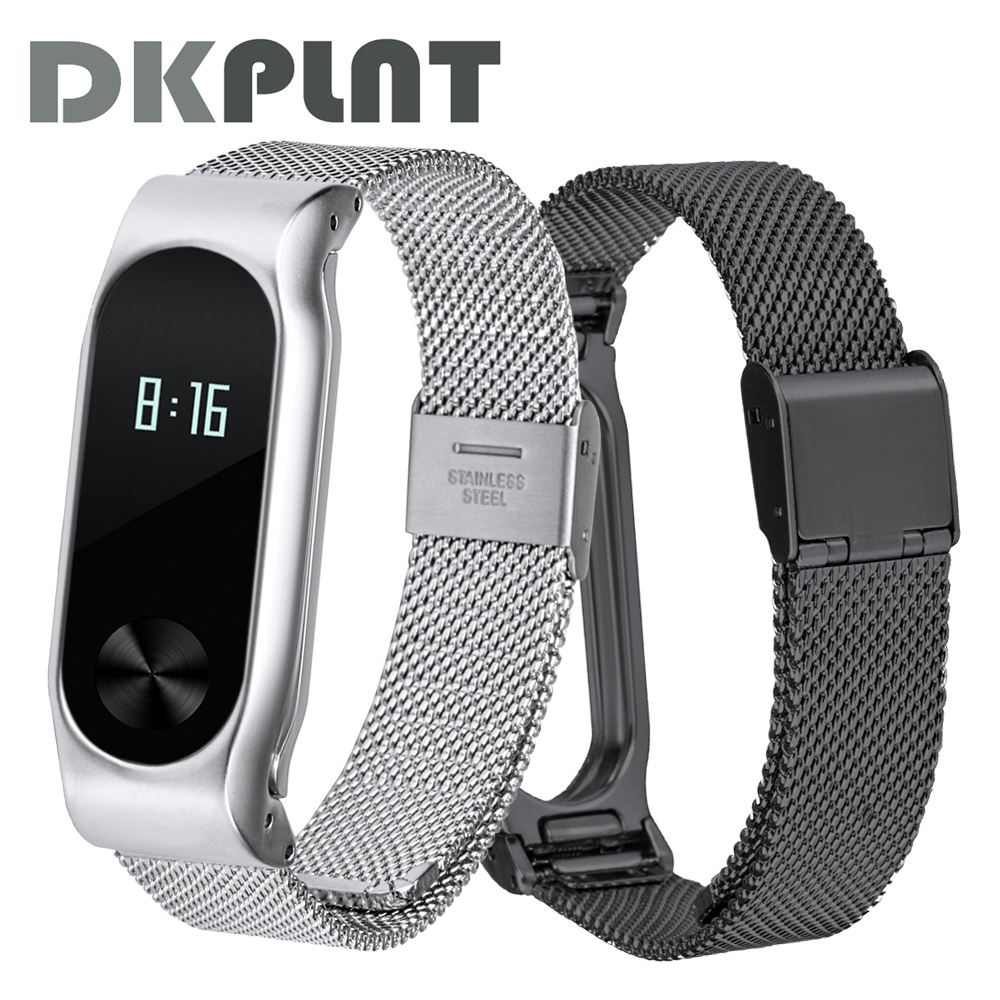 xiaomi mi band 2 screwless stainless steel strap miband 2 metal wrist strap bracelet for mi band2 smart wristbands accessories Xiaomi Mi band 2 Screwless Stainless Steel Strap MiBand 2 Metal Wrist Strap Bracelet for Mi band2 Smart Wristbands Accessories
