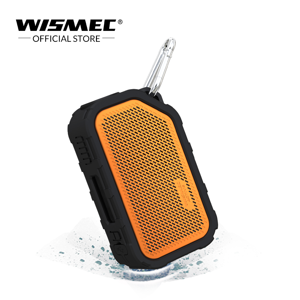 Original Wismec Active Mod Box 80W vape box with Bluetooth Speaker Waterproof/shockproof Electronic cigarette Vape Mod Box