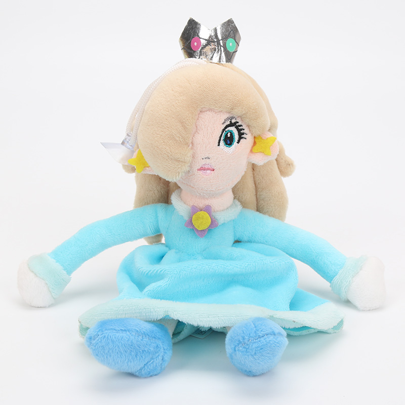new 20cm 8 super mario princess rosalina plush toy with