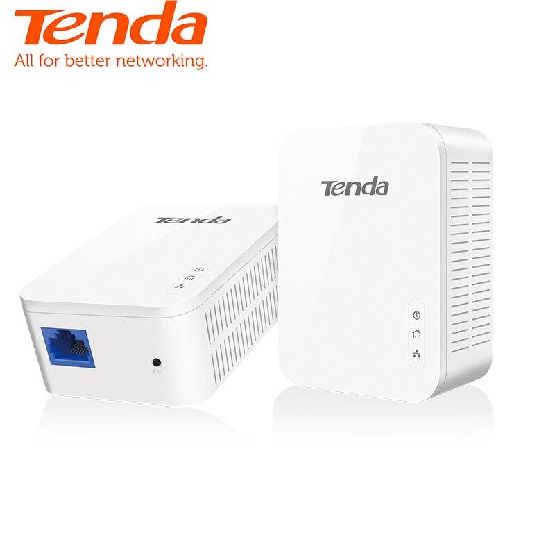 Tenda 1 paire PH3 1000 Mbps KIT Gigabit Puissance ligne Adaptateur Powerline Réseau Adaptateur AV1000 Ethernet PLC adaptateur IPTV homeplug AV2