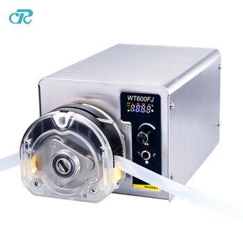DC Brushless Motor Transparent Pump Head Peristaltic Pump dc motor max 2280ml min liquid transfer peristaltic pump speed 600rpm