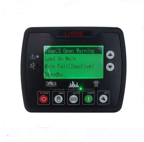LXC3120 LIXiSE diesel generator ats controller module new diesel generator digital panel lxc6120e lixise engine controller completely replaced dse6120
