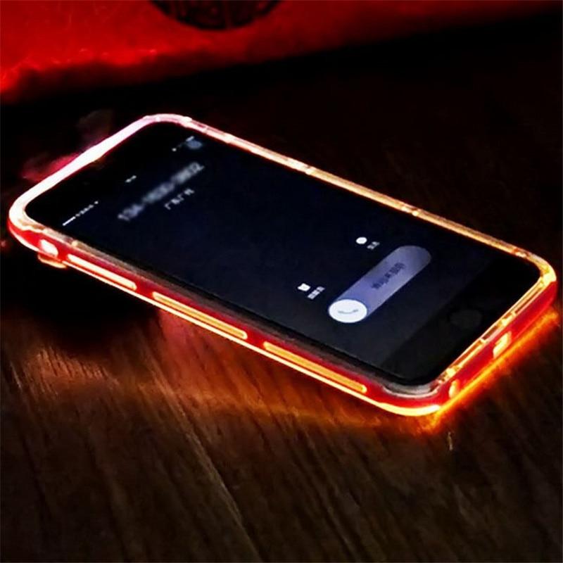 huge selection of 7fc2d 9a5fa US $153.0 |PC Ultra Thin Transparent LED Flash Case for samsung j3 j2/j200  j1 ace/j11oh j1 j5 j7 s7 s6 edge s6 edge plus s5 s4 s3 on5 on7 on ...