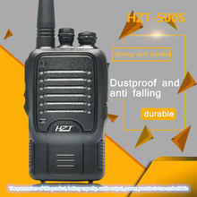 Walkie-Talkie HZT-500S Handheld Rechargeable Civilian 5W 3000 MAh Lithium Battery Two-Way Station Transceiver 3 7v battery 9045502500 ma gps navigator built in battery walkie talkie bluetooth audio rechargeable lithium battery