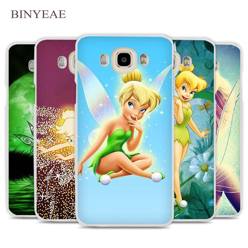BINYEAE Peter Pan Wendy Tinkerbell Phone Case Cover for Samsung Galaxy J1 J2 J3 J5 J7 C5 C7 C9 E5 E7 2016 2017