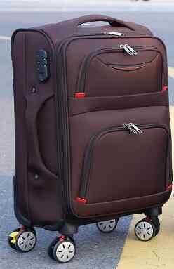 旅行ローリング荷物袋上ホイールビジネス旅行荷物スーツケースオックスフォードスピナースーツケース輪トロリーバッグ用男性