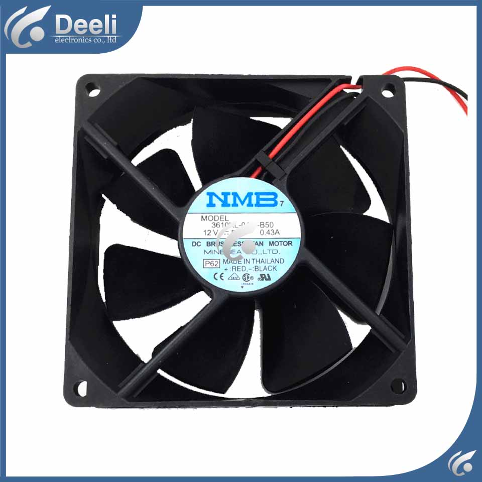 new good working NMB 9225 12V 0.43A 3610KL-04W-B50 3K UPS fan 92*92*25MM refrigerator cooling fan good Working on sale nmb new and original fba09a12m 9025 9cm 12v 0 2a chassis silent cooling fan 90 90 25mm