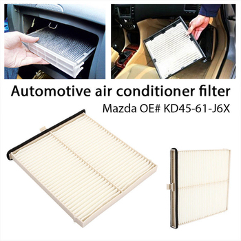 OEM Replacement For Mazda Cabin Dust Pollen Air Filter KD45-61-J6X CF1270 USA SHIP image